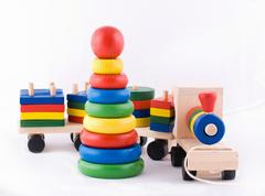Toddler wooden toys